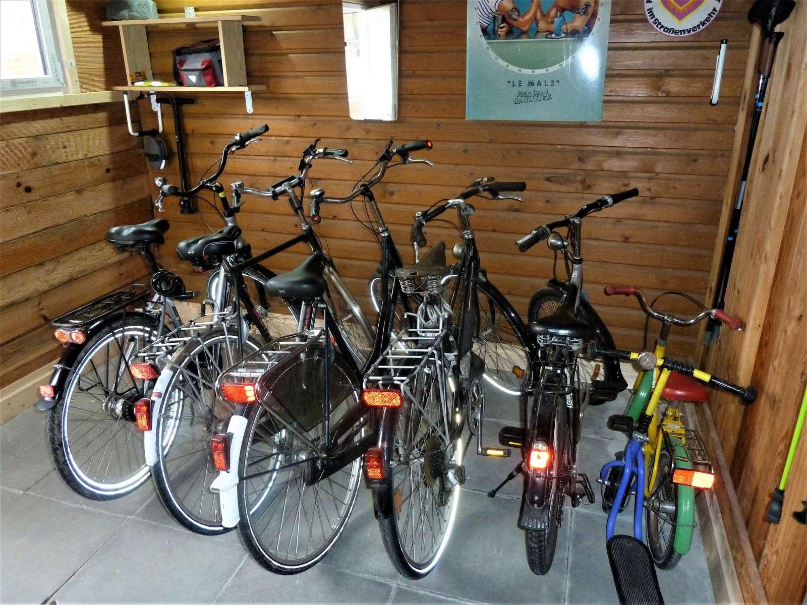 Hauseigene Fahrräder